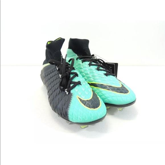 quality design 37973 8dc03 Nike Wmn Hypervenom Phantom 3 DF FG ACC Aqua Black NWT